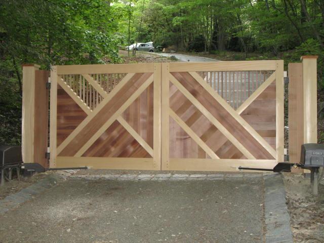 Driveway Gate Designs Plans