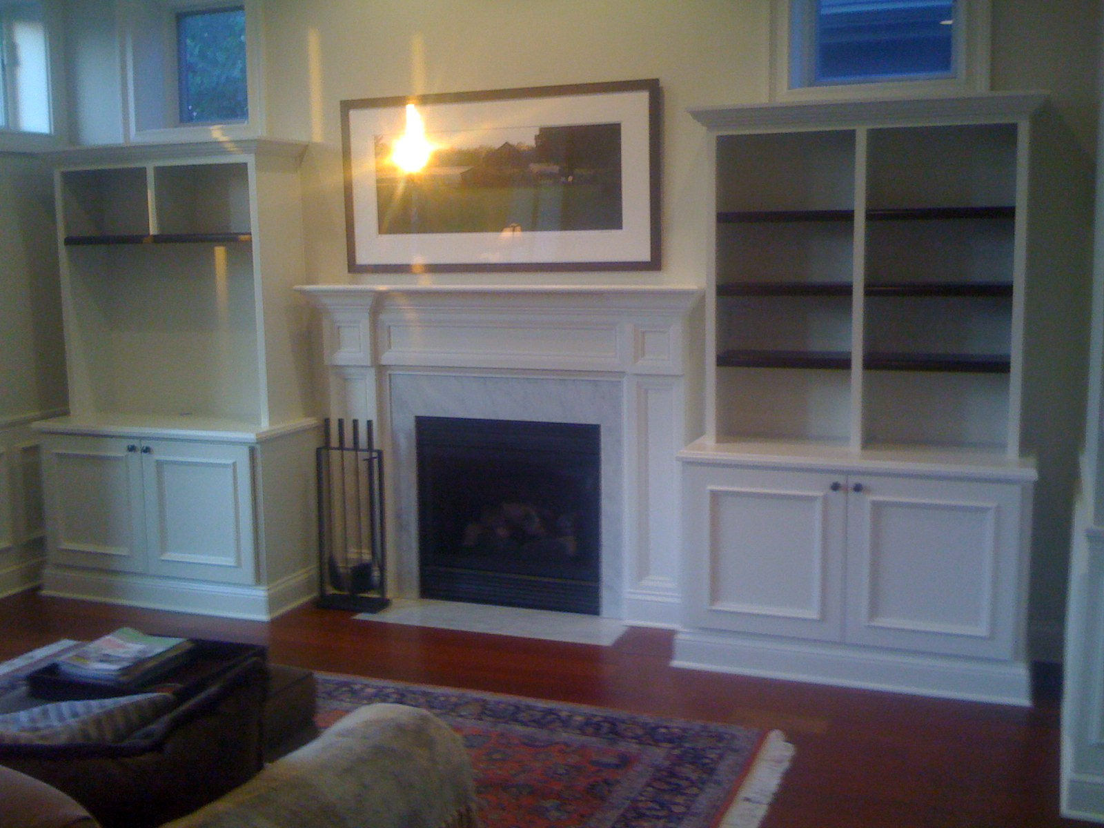 Custom Built Ins And Wainscoting