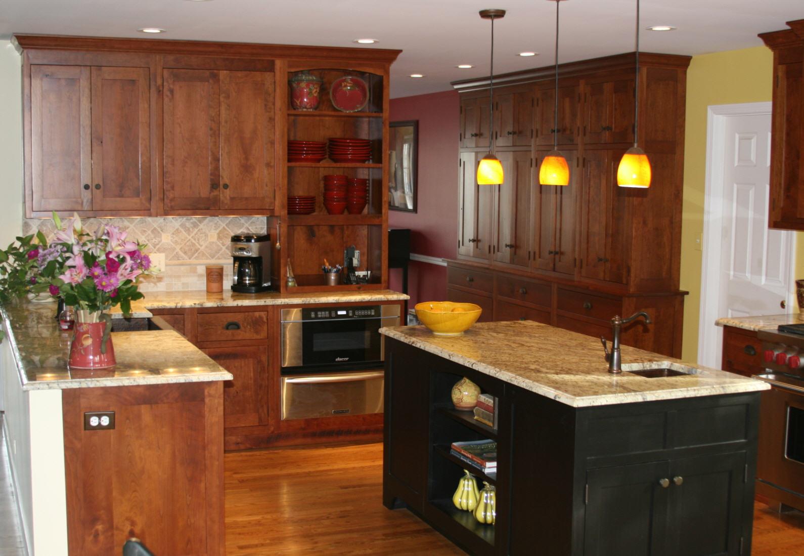 Black Cherry Kitchen Project