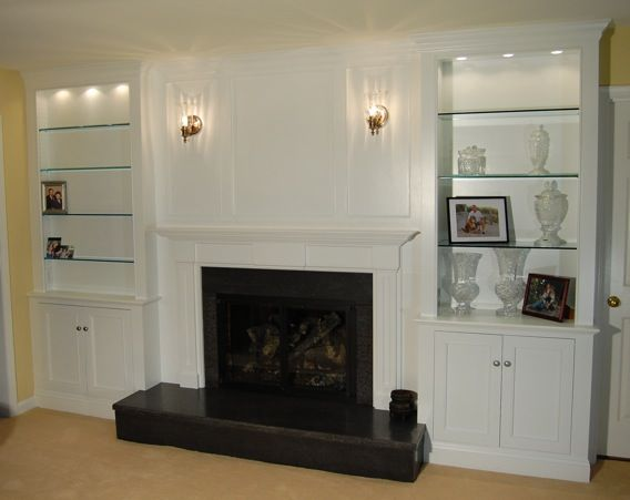 Fireplace Wall Millwork