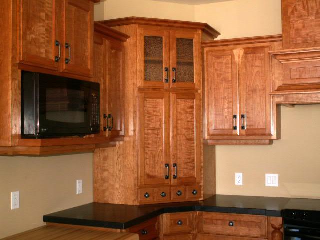 Corner Kitchen Cabinet On