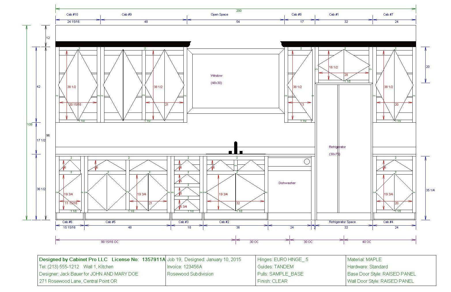 kitchen cabinet shop drawings cabinet pro shop drawings woodweb s cad forum 5763