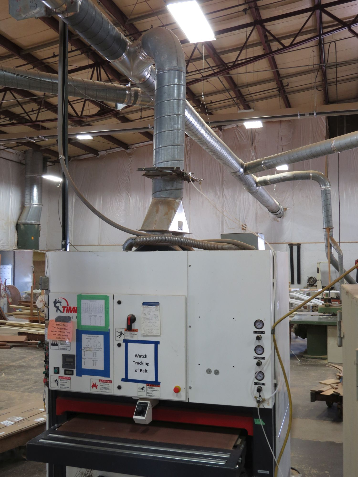 Dust Collector Sucking Up Conveyor Belt Woodweb S Dust Collection Safety And Plant Operation