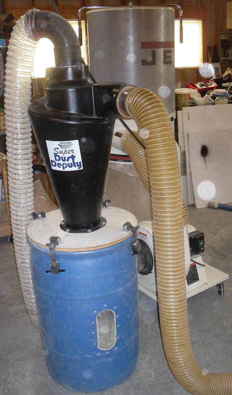 Suitability Of Plastic Dust Barrels Woodweb S Dust Collection Safety And Plant Operation