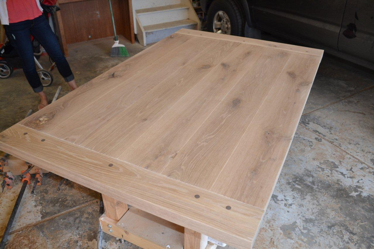 Relatively rustic white oak dining table - WOODWEB's Furniture Making Forum FV69