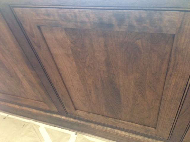 How To Correct Blotchy Stain On Cherry
