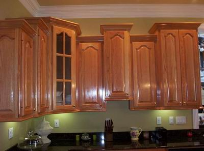 This Picture Does A Good Job Of Ilrating The Depth Difference Needed For Crown Molding When Cabinet Height Varies