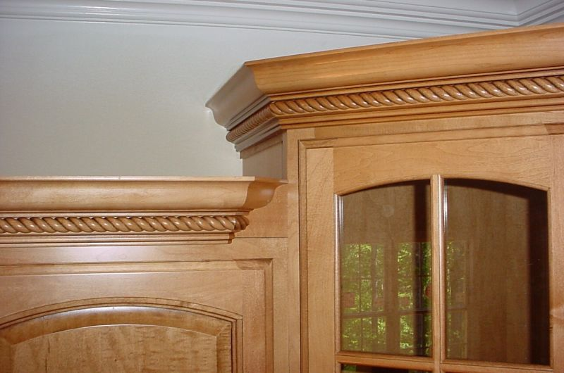 Crown Transitions For Corner Cabinets