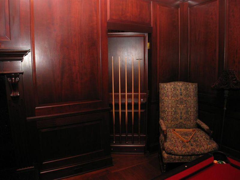Hidden Room Secret Door Details