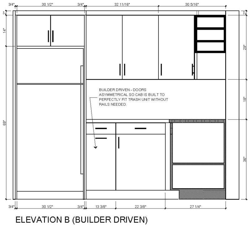 Kitchen Design Symmetry Versus Functionality
