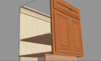 Melamine Wall Cabinet Design