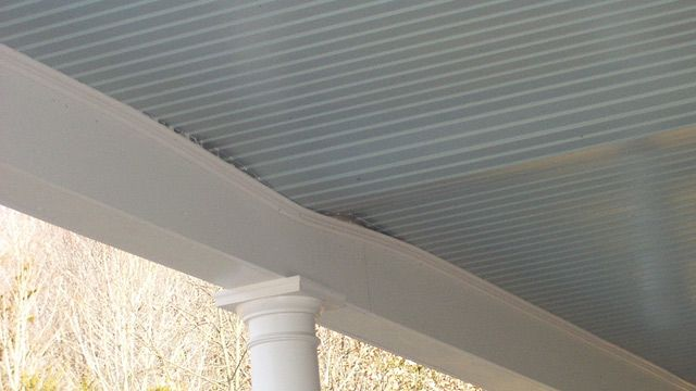 Swelling Issues For A Porch Ceiling