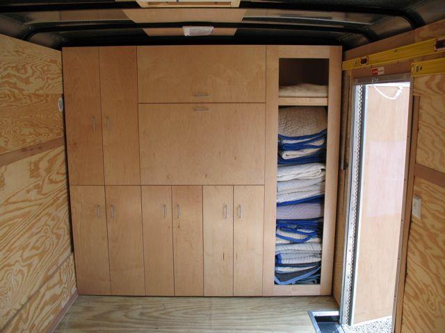 Wooden Enclosed Shelf Plans PDF Plans